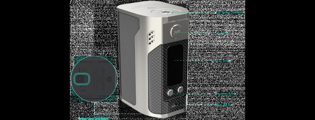 Wismec RX300 mod - внешний вид
